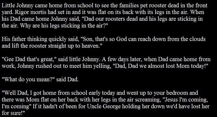 00015 - little johnny learns about death