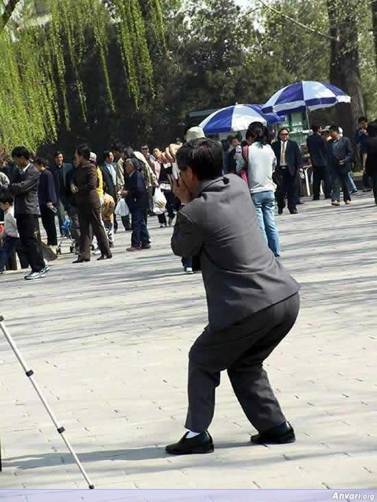003 - chinese man's photo shooting style