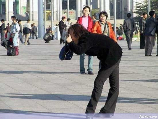004 - chinese man's photo shooting style