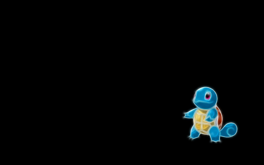 007 squirtle - fractal pokemon wallpapers