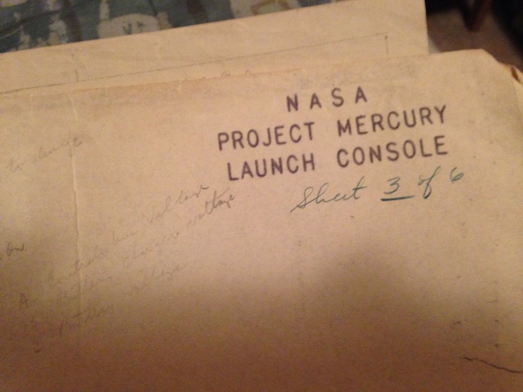 02 0plaphw - guy went through his grandfathers stuff and stumbled upon a binder with all of his nasa stuff