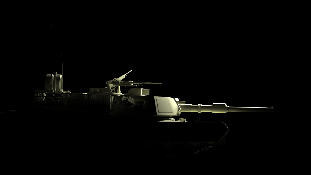 accidentally rendered wrong camera cool wallpaper resulted ma battle tank model