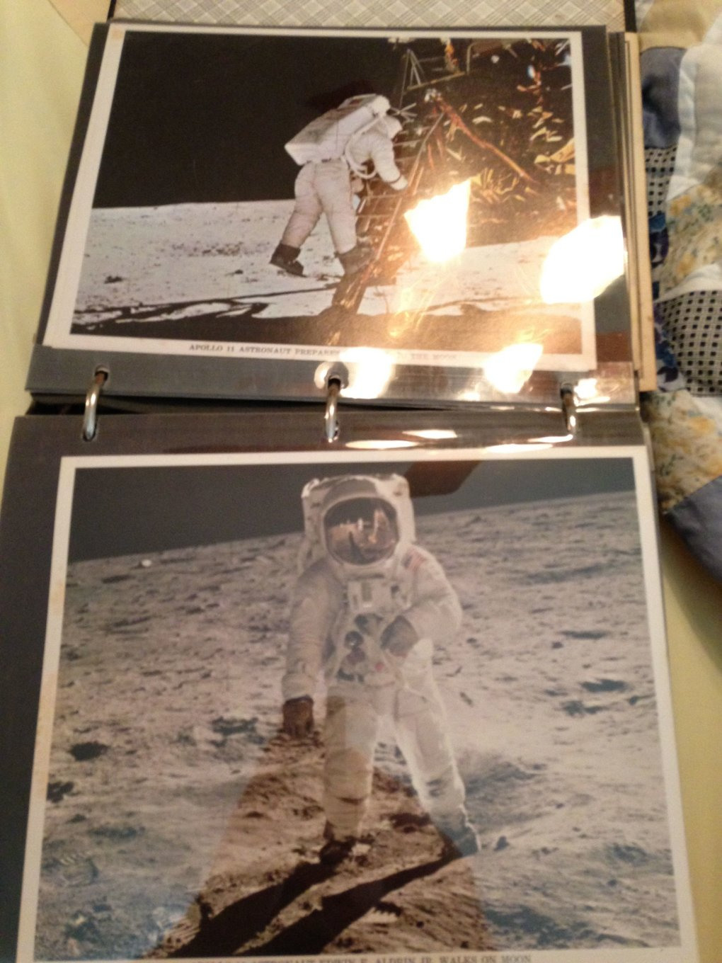 07 oyjasgn - guy went through his grandfathers stuff and stumbled upon a binder with all of his nasa stuff