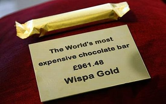 1 - the most expensive...
