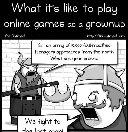 1 - what it's like to play online games as a grownup