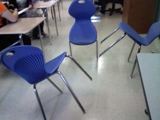 10261011134 - having fun with chairs in physics class