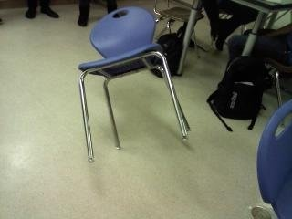 1026101329 - having fun with chairs in physics class