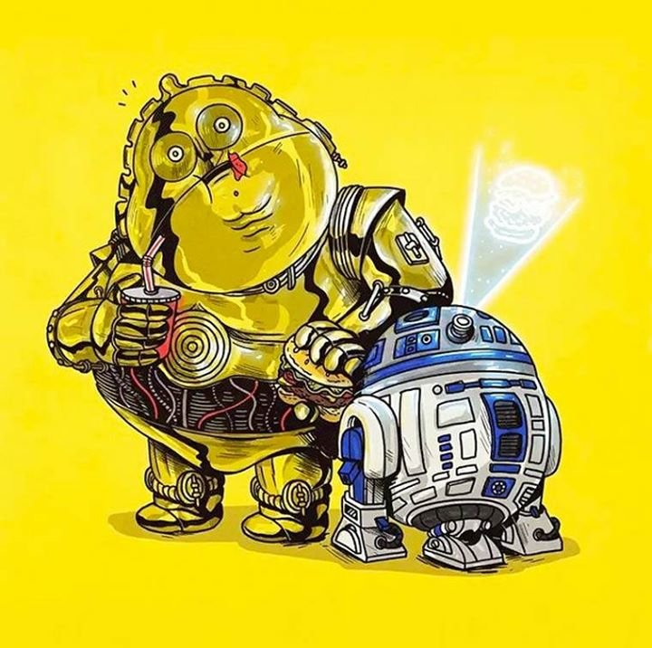 10672386 760615804010738 4234710107821537988 n - obese pop culture illustrations by alex solis