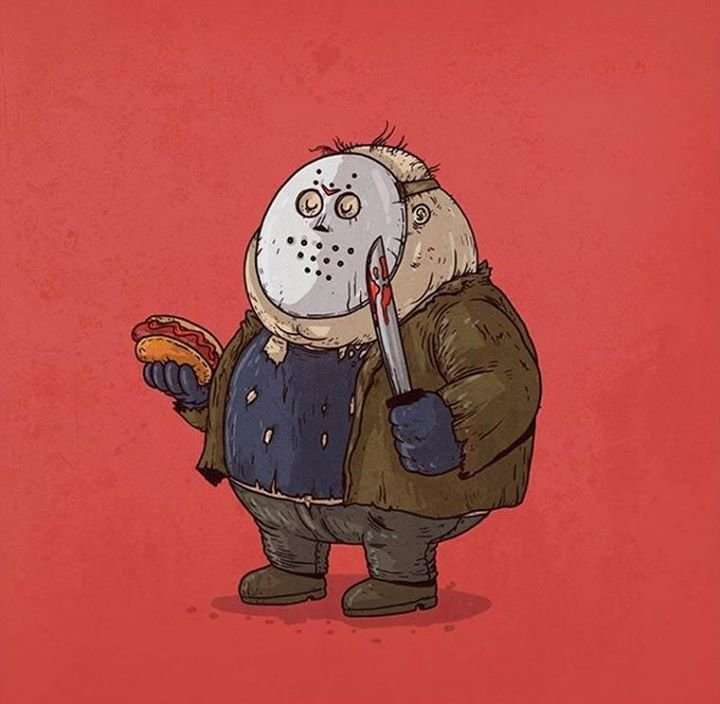 10686941 760616004010718 7002610859980783424 n - obese pop culture illustrations by alex solis