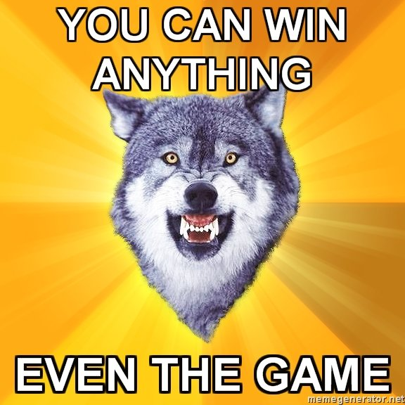 11 - the courage wolf collection says: