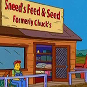 11 points - funny signs from the simpsons