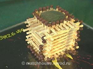 12 - house made from matches