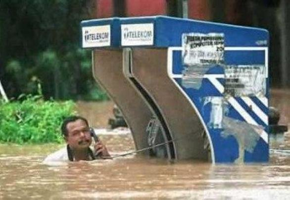 12 - um yes... i'd like to report a flood