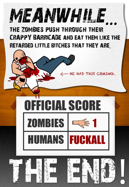 12 - zombie apocalypse and how it all goes to hell