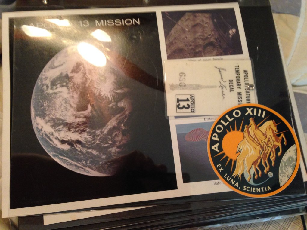 12 fdxh6pz - guy went through his grandfathers stuff and stumbled upon a binder with all of his nasa stuff