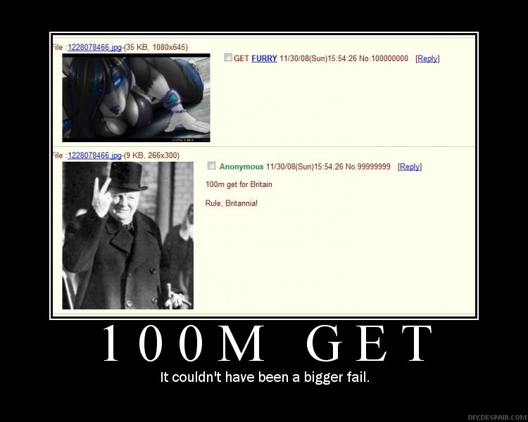 1228079525914 - the hundred millionth post on 4chan