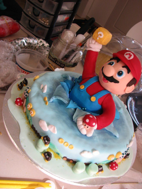 1248 - epic video game cakes!!!!!!