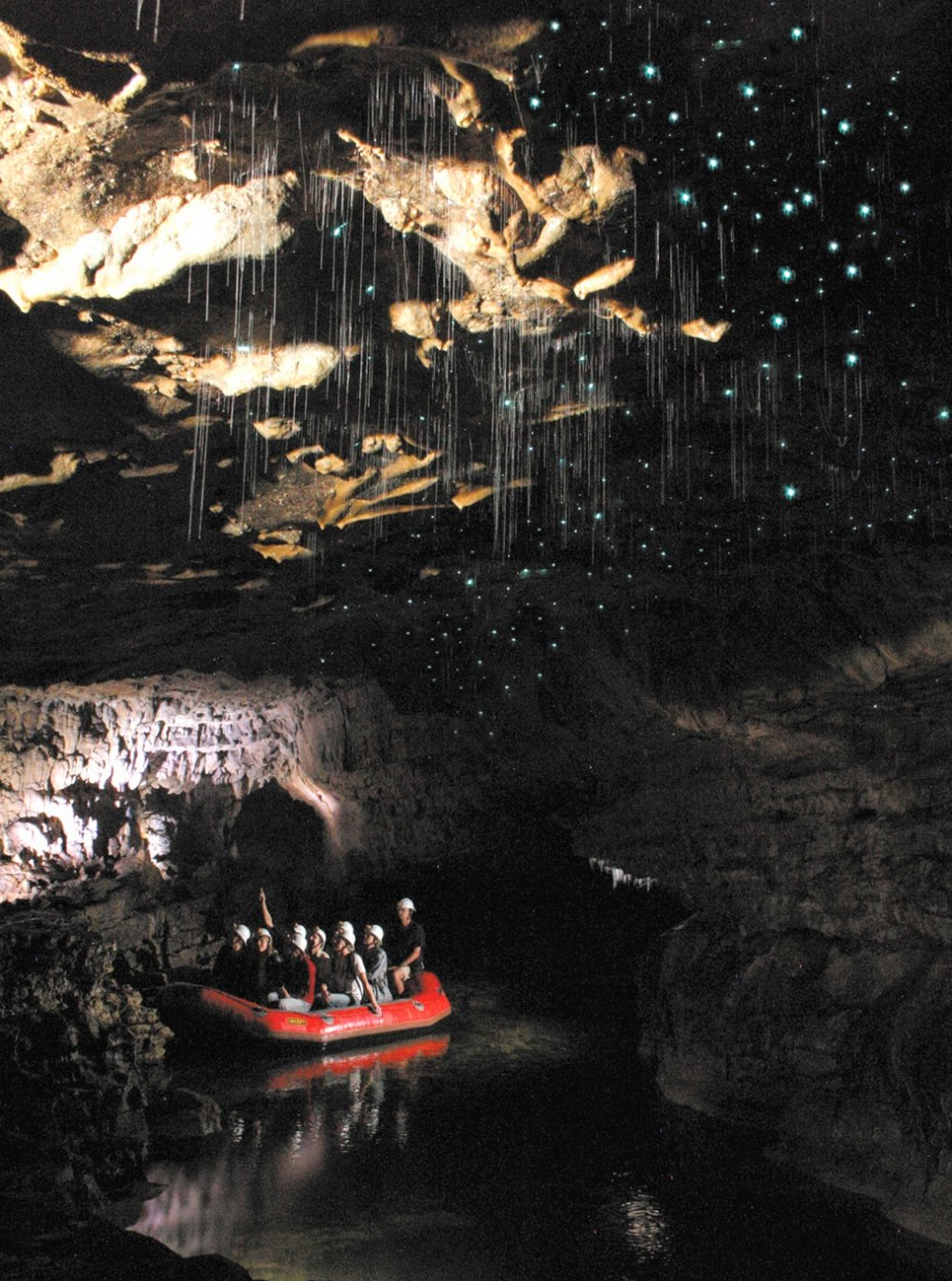 13 - spectacular view inside waitomo caves
