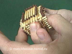 14 - house made from matches