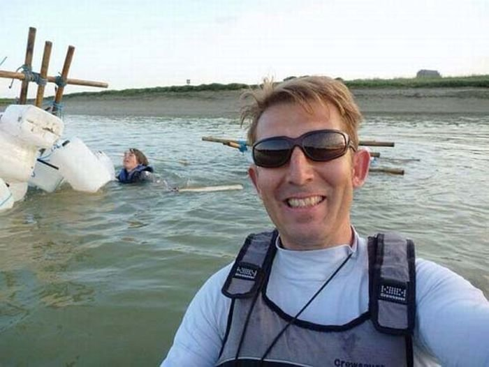 14 - poorly timed selfies...