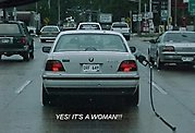 15 - 20 photos proving that women can't drive