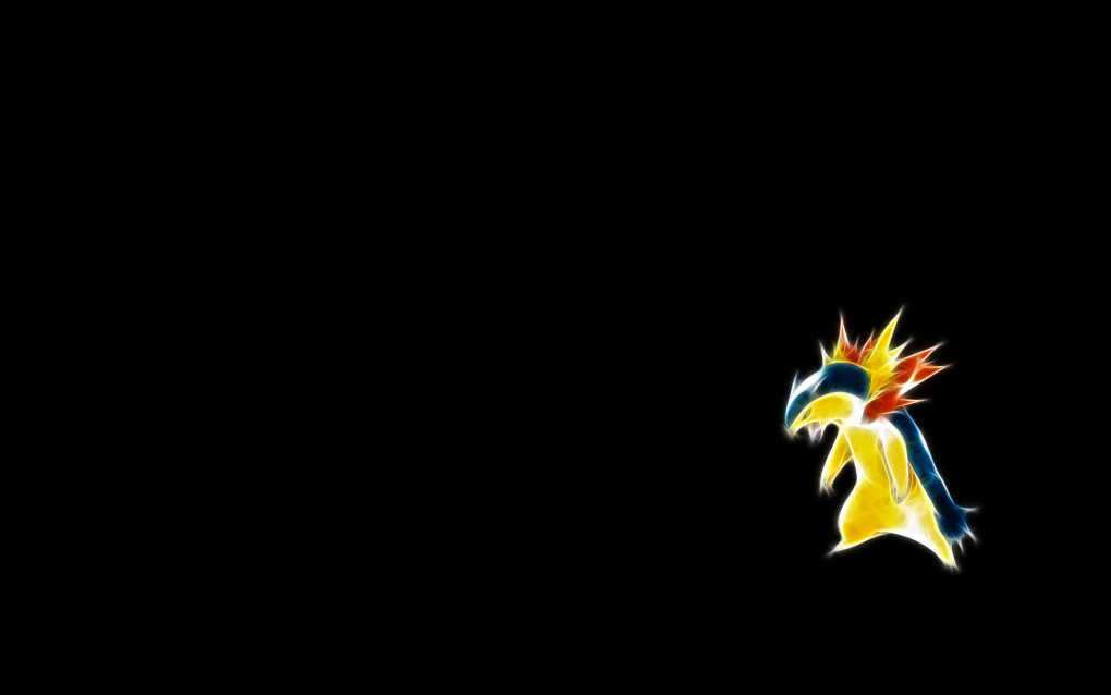 157 typhlosion1 - fractal pokemon wallpapers