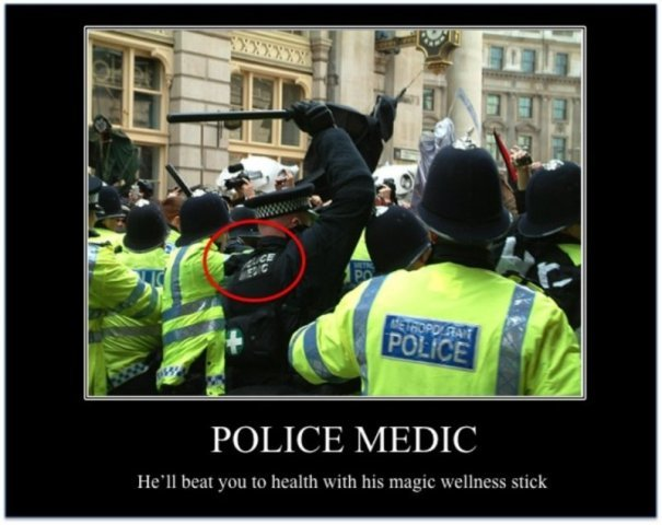 1633police medic - a few great motivational posters