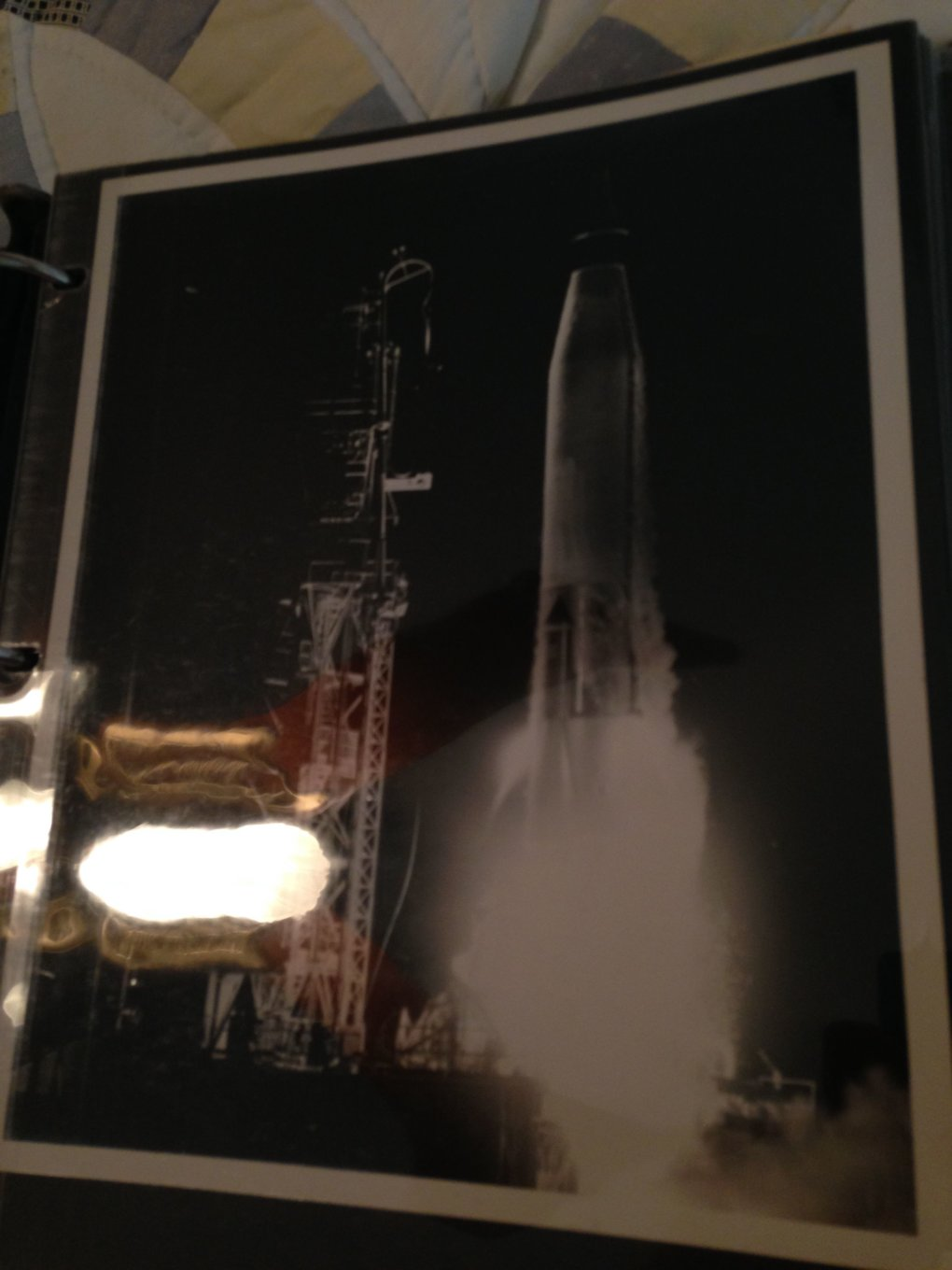 17 yk1vzum - guy went through his grandfathers stuff and stumbled upon a binder with all of his nasa stuff
