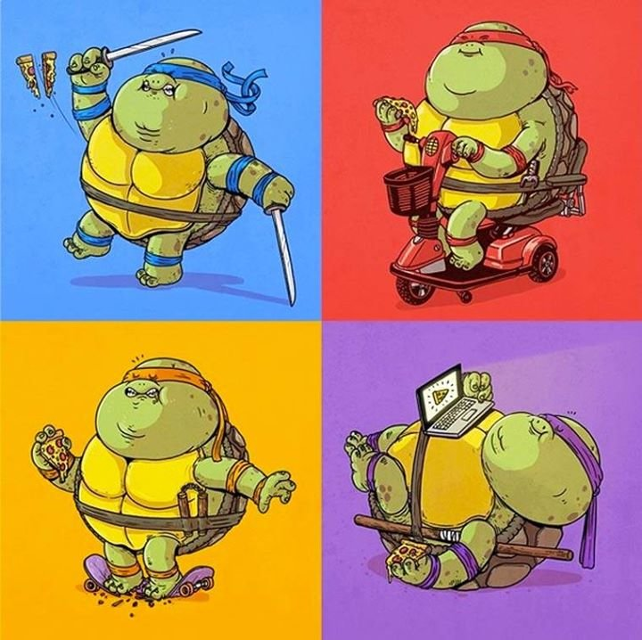 1800260 760616064010712 4384309999508466587 n - obese pop culture illustrations by alex solis
