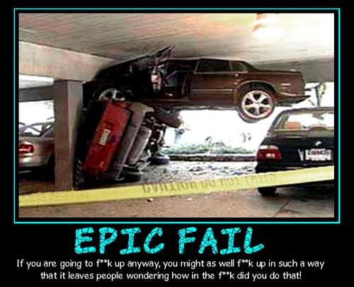 demotivator epic fail