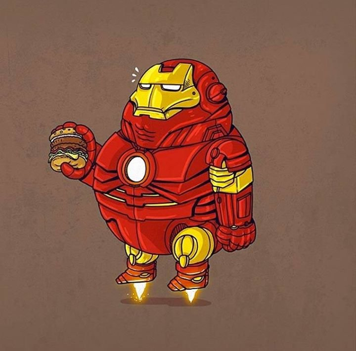 1912454 760615960677389 3347909353689516278 n - obese pop culture illustrations by alex solis