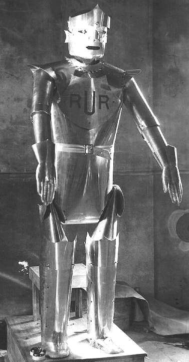 1923 rur - the evolution of movie robots