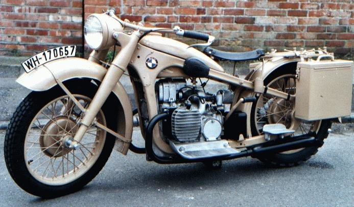 1940 bmw r12 - bmw the ultimate driving machine.