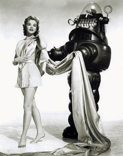 1956 robby2 - the evolution of movie robots