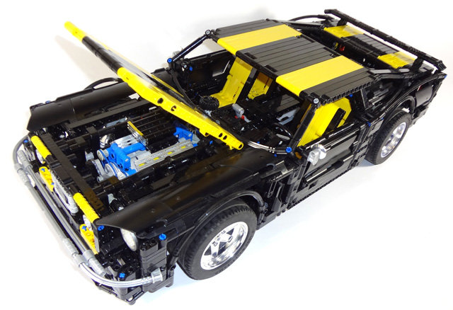 1967 mustang - the most awesome lego super car models