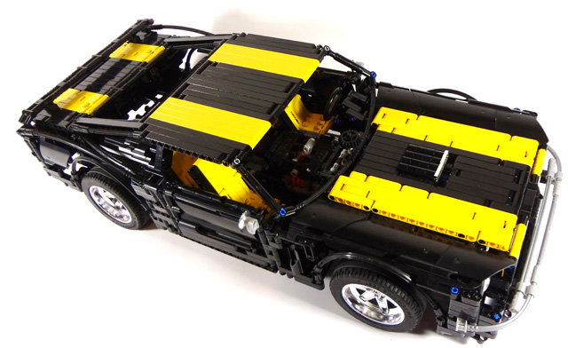1967 mustang1 - the most awesome lego super car models