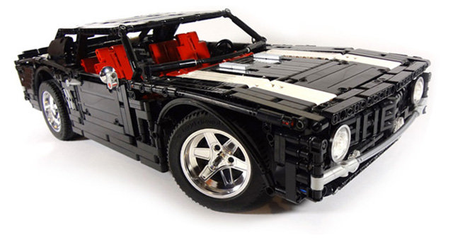 1969 camaro ss - the most awesome lego super car models