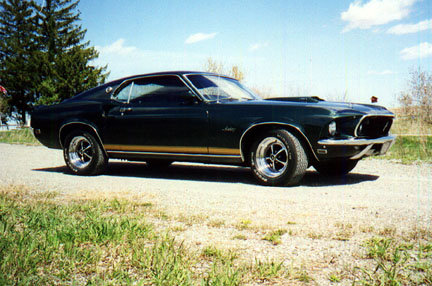 1969 mustang gt - the better car