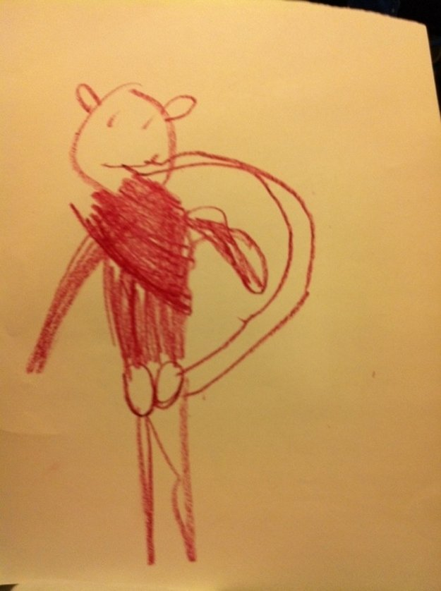 1 1 - 20 bizarre pictures drawn by little kids