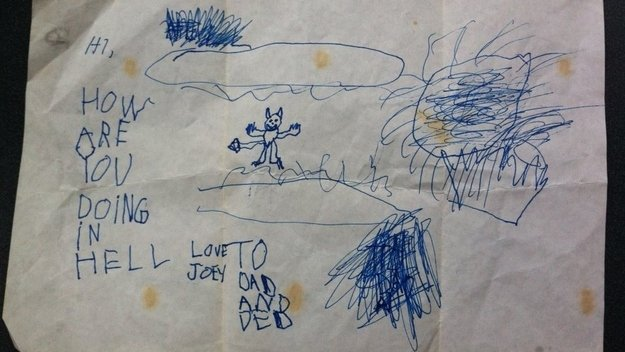 1 3 - 20 bizarre pictures drawn by little kids