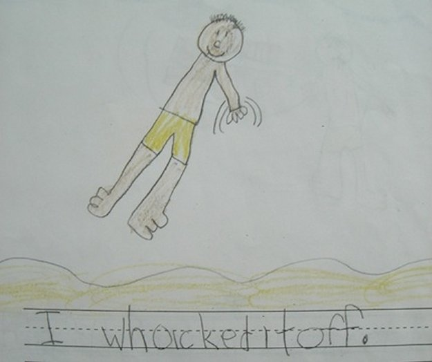 1 6 - 20 bizarre pictures drawn by little kids