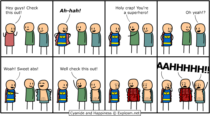 2 - cyanide and happiness, fails, and motivationals!!