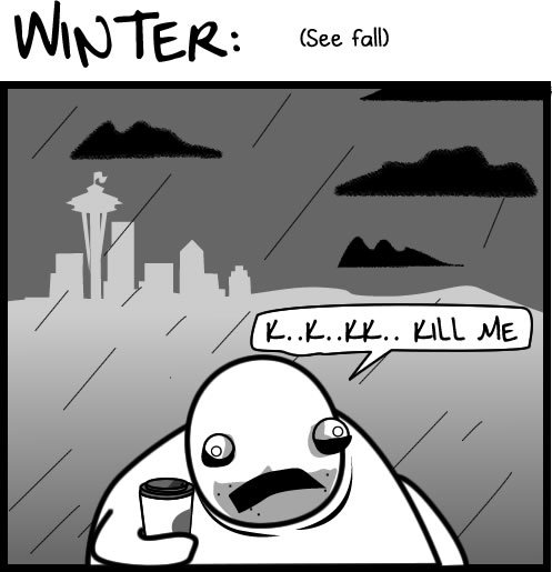 2 - the four seasons of seattle weather