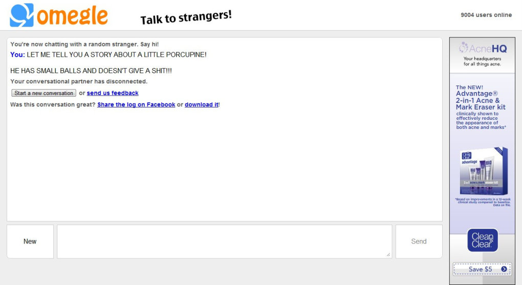 2 - why do i have such a hard time on omegle??