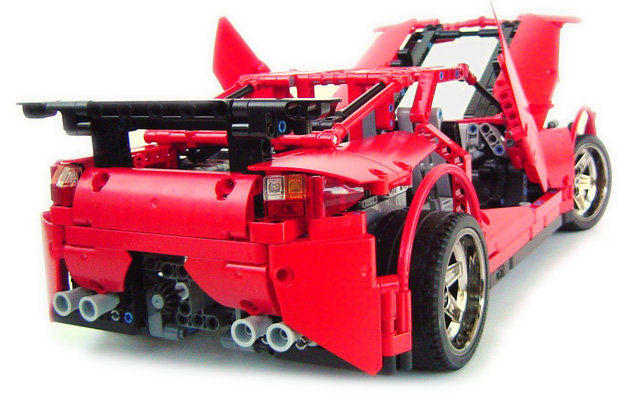 2011 supercar1 - the most awesome lego super car models