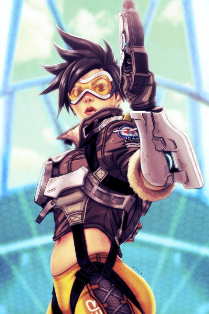 Tracer overwatch sexy 70+ Hot