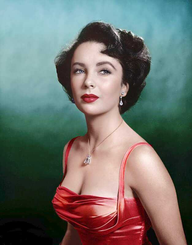 Unseen images of Elizabeth Taylor, Marilyn Monroe and