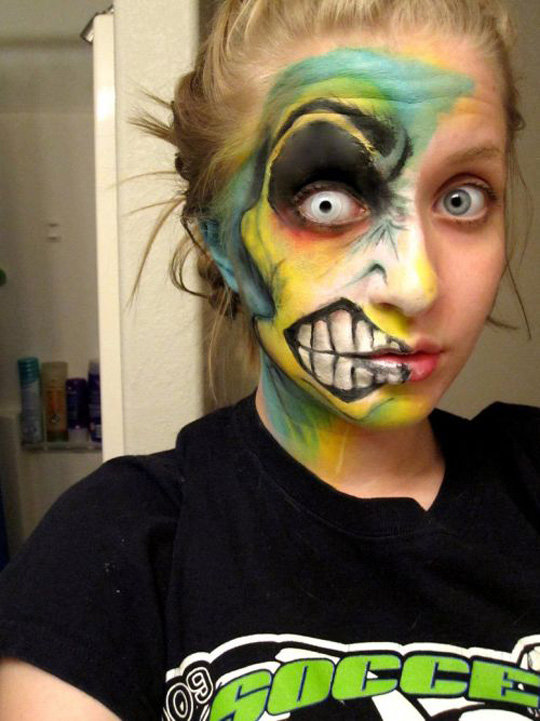 2391 - cool face painting