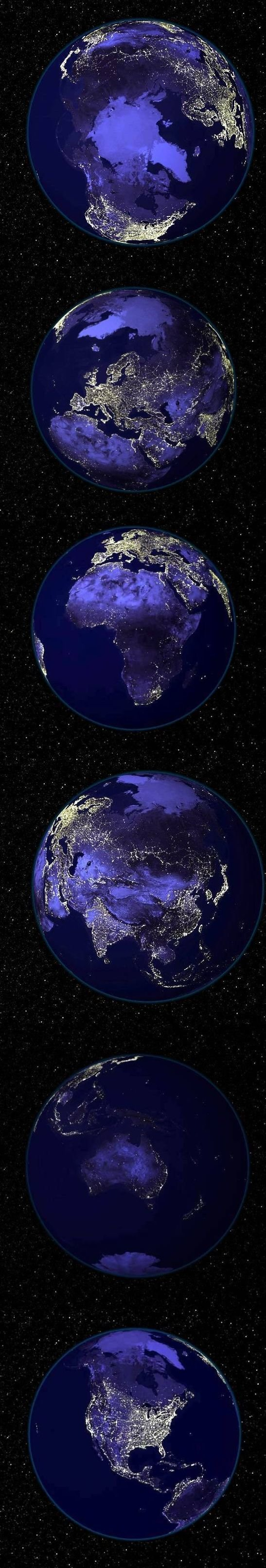 2525 2798 - earth at night
