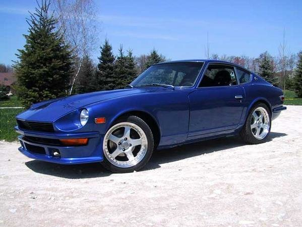260z - the evolution of the nissan z